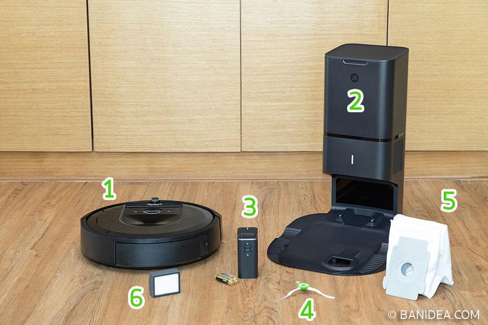 รีวิวแกะกล่อง หุ่นยนต์ดูดฝุ่น iRobot Roomba i7+