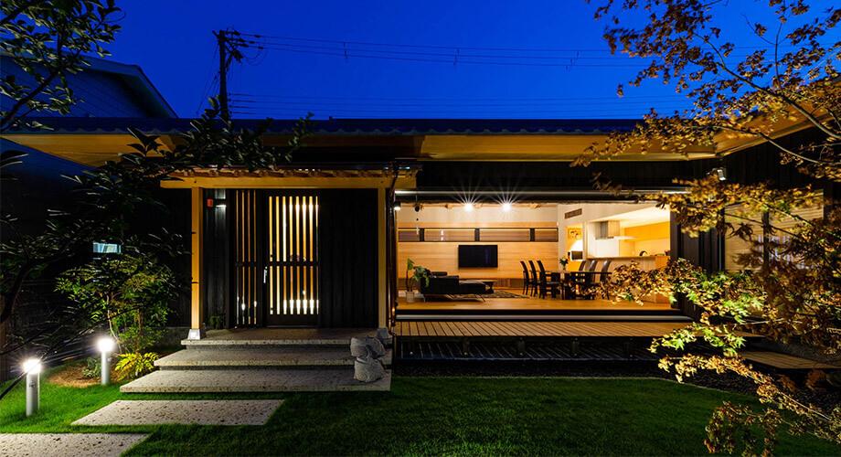บ้านชั้นเดียวสไตล์ญี่ปุ่น