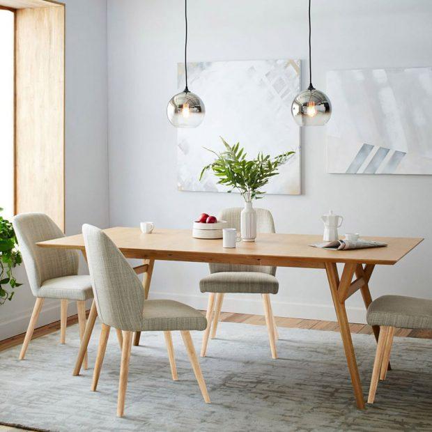 โต๊ะทานอาหาร สไตล์ Mid Century