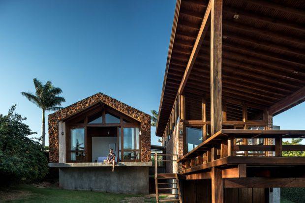 บ้านสวยวัสดุธรรมชาติ