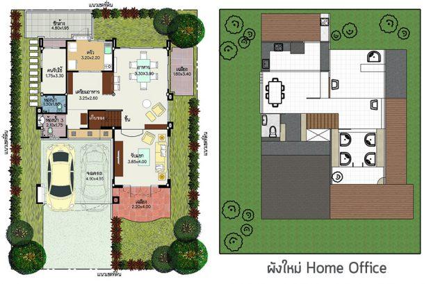 จัด layout บ้าน