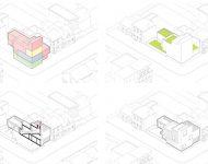 ภาพ 3D รูปร่างอาคาร