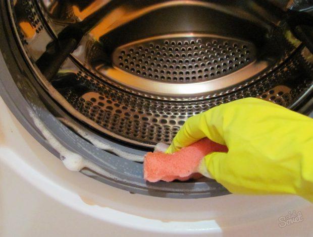 การล้างเครื่องซักผ้า