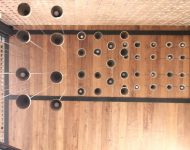 เพดานและผนังไม้