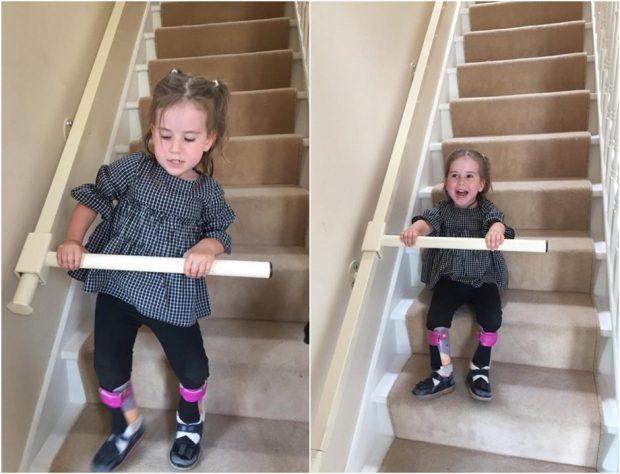 ราวพยุงขึ้น-ลงบันไดสำหรับผู้พิการ