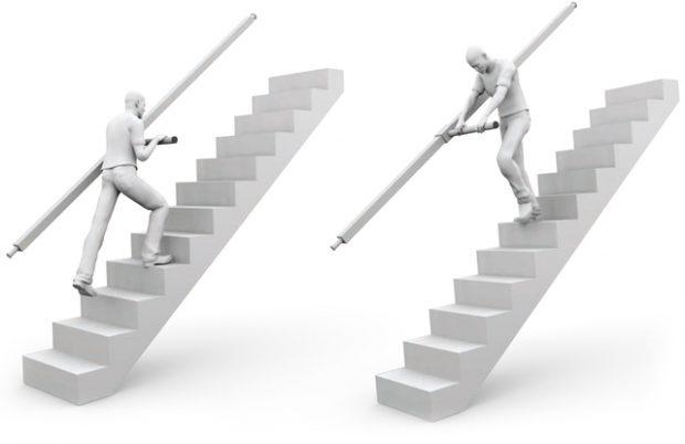 ราวพยุง Stair-Steady