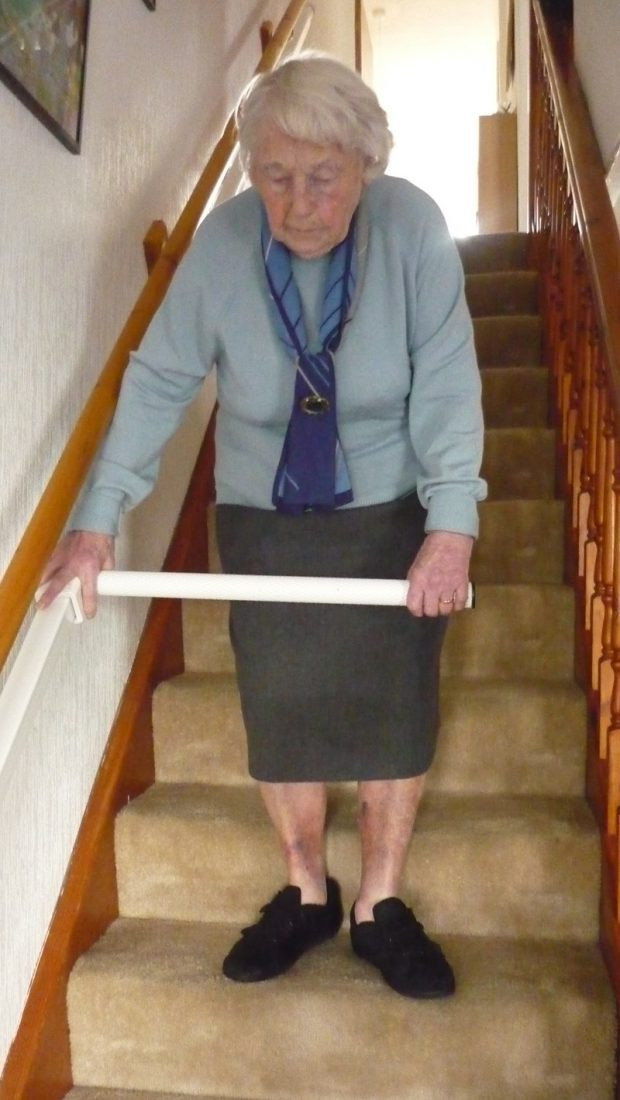 Stair-Steady พยุงขึ้นบันได