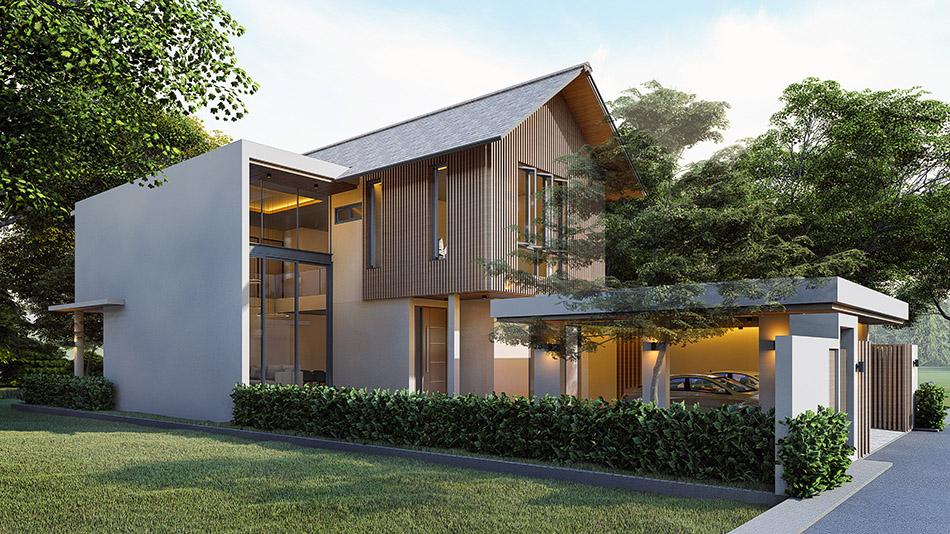 ออกแบบบ้านเชียงใหม่ ปันแปลน