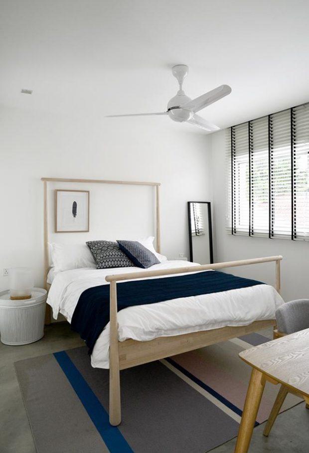เตียงไม้สไตล์มินิมอล