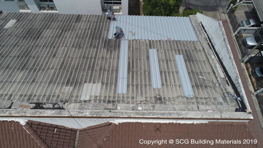 Top Up Roof จาก SCG Roof Renovation