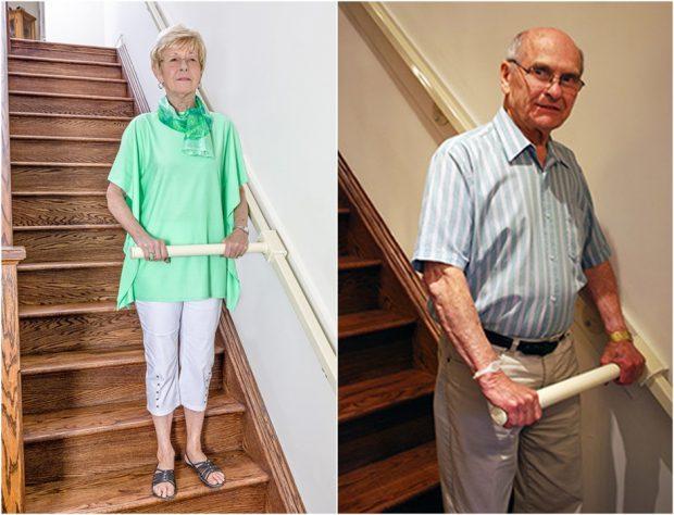 stair-steady พยุงเดินลงบันได