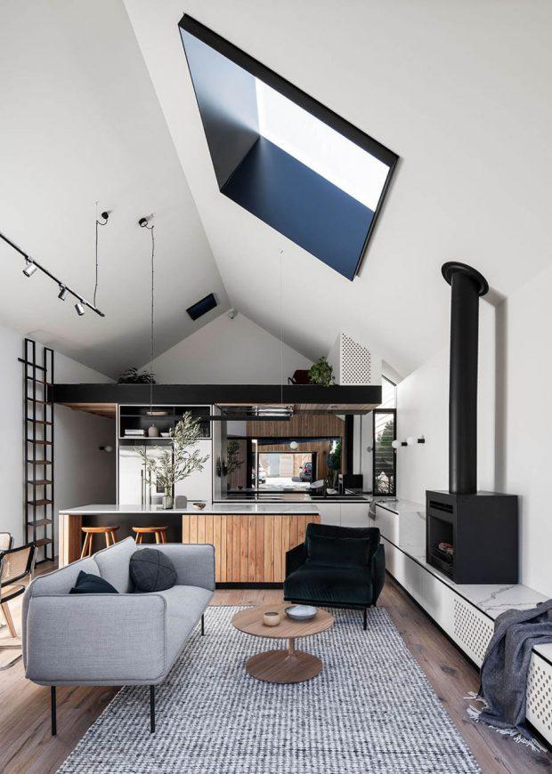 ช่องแสงกระจกบนเพดาน