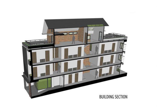 ภาพรวมของอาคาร