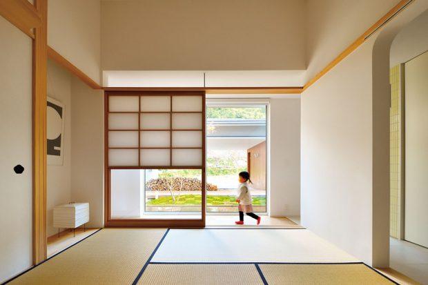 ห้องนั่งเล่นสไตล์ญี่ปุ่น