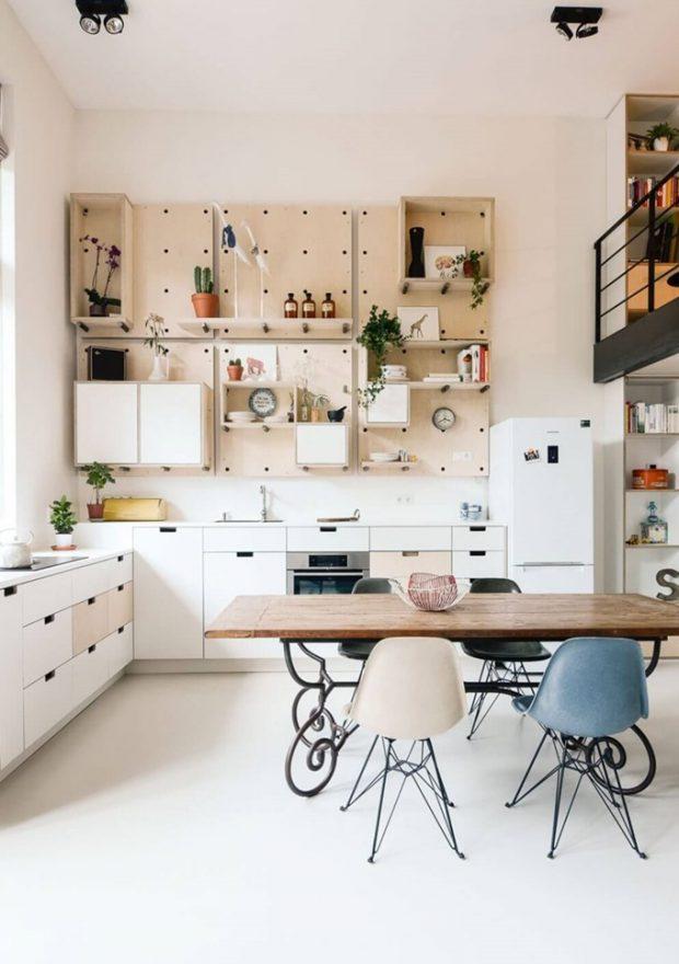 มุมครัวและห้องทานข้าว