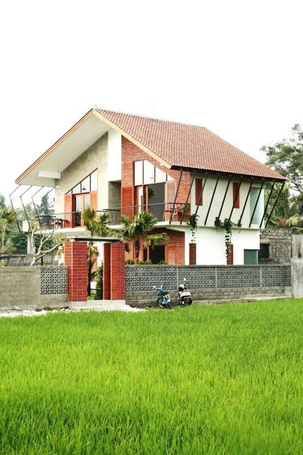 บ้านสองชั้นสไตล์ Tropical