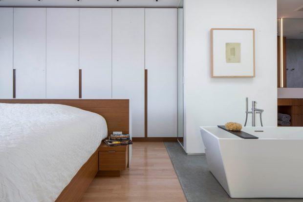 ห้องนอนมีห้องน้ำในตัว