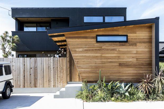 บ้านผนังไม้สไตล์ญี่ปุ่น