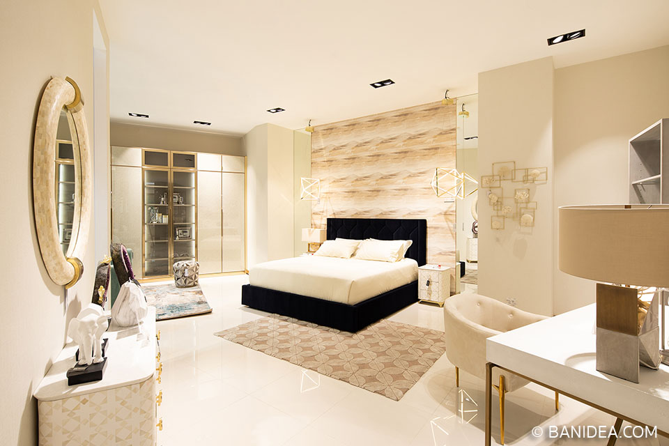 ห้องนอนสไตล์ Modern Luxury