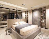 ตู้บิวท์อินในห้องนอน