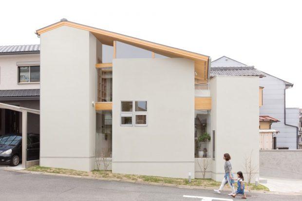 บ้านสองชั้นสไตล์มินิมอล