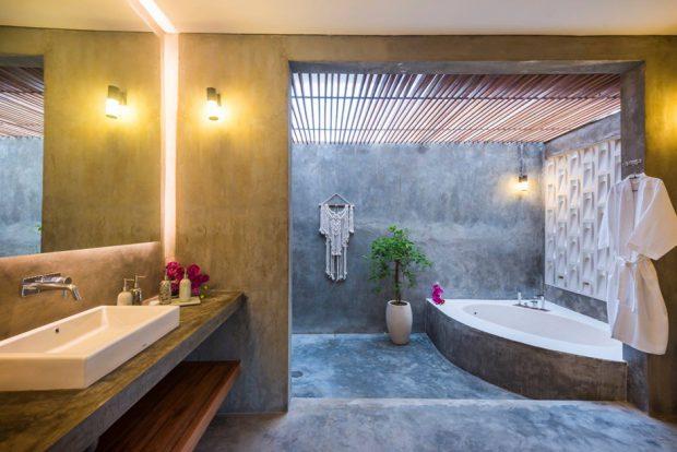 ห้องน้ำเปิดรับธรรมชาติ