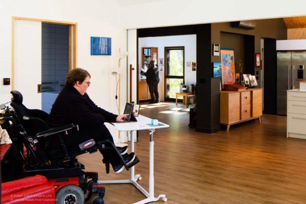 บ้านที่ออกแบบมาสำหรับผู้พิการ