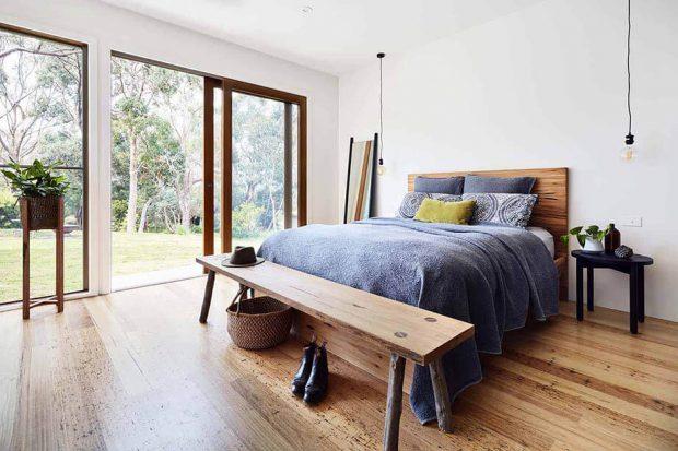 เตียงนอนไม้