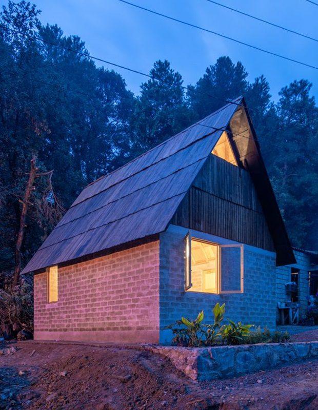 บ้านจากวัสดุง่าย ๆ