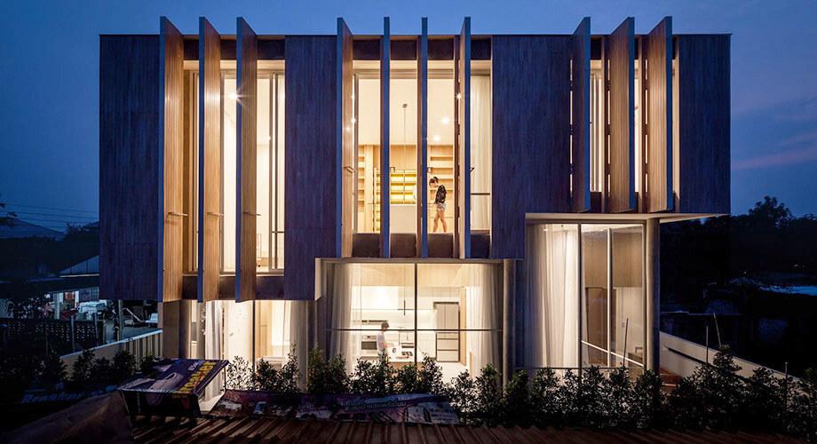 บ้านโมเดิร์นในกรุงเทพ