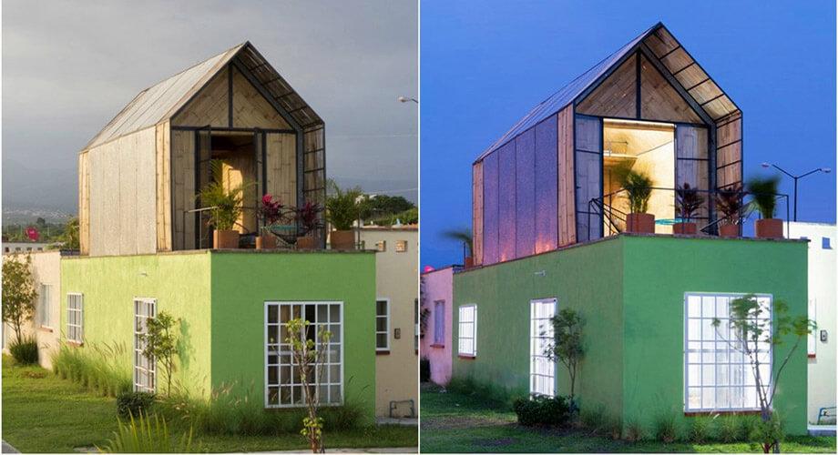 สร้างบ้านไม้ไผ่