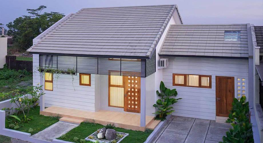 บ้านหลังเล็กสไตล์มินิมอล