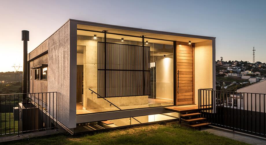 บ้านกล่องคอนกรีต