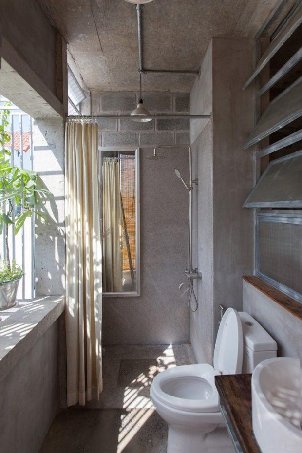 ห้องน้ำโปร่ง ๆ เป็นธรรมชาติ