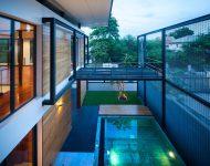 open space เหนือสระว่ายน้ำ
