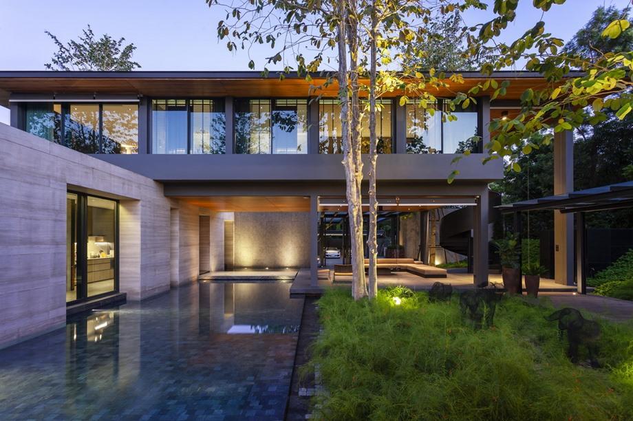 บ้านสไตล์โมเดิร์นในไทย