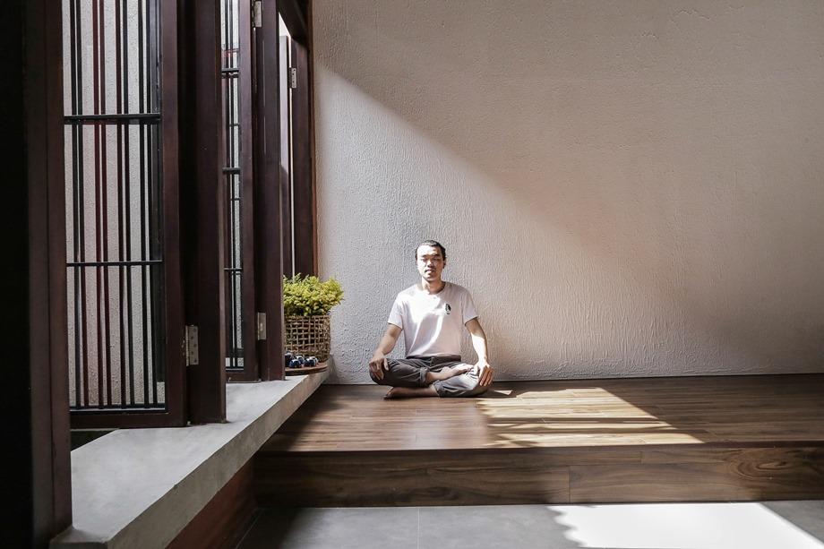 มุมนั่งเล่นยกพื้นสไตล์ญี่ปุ่น