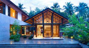 บ้านหลังคาจั่วสไตล์ไทย