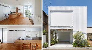 บ้านกล่องสีขาว