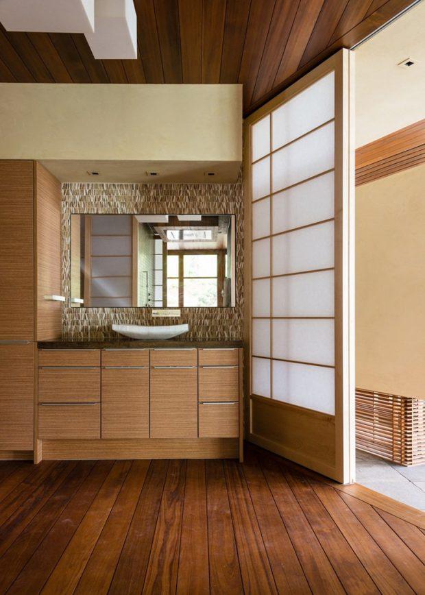 ประตูบานเลื่อนสไตล์ญี่ปุ่น