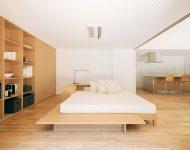 ห้องนอนเปิดผนังเชื่อมต่อห้องอื่นได้