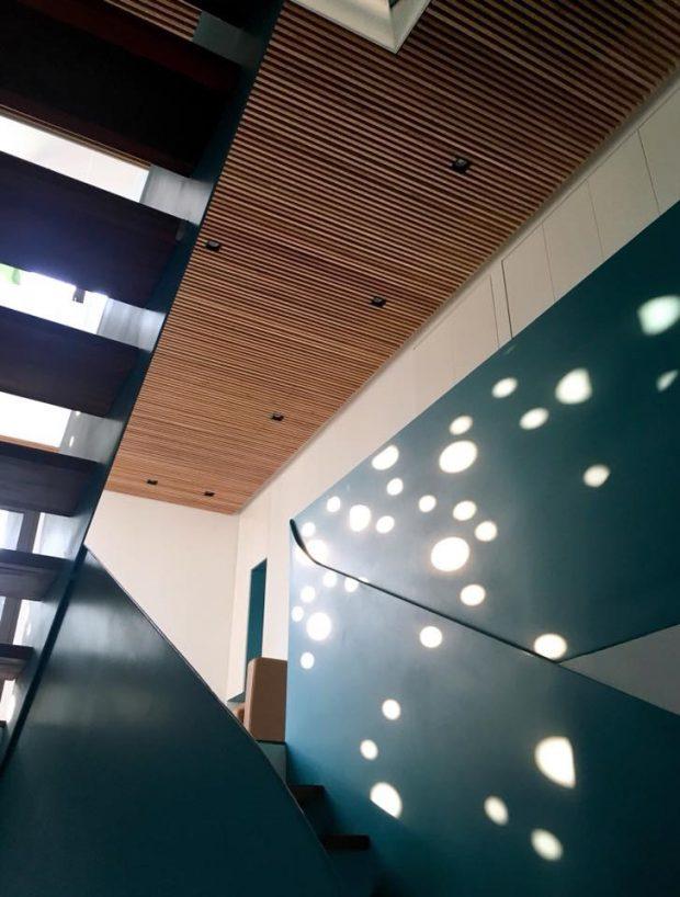 มิติของแสงและเงาในบ้าน