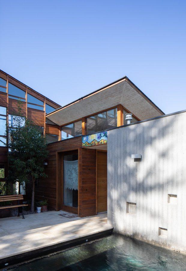 บ้านไม้กับคอนกรีตสไตล์โมเดิร์นบ้านไม้กับคอนกรีตสไตล์โมเดิร์น