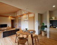 บ้านญี่ปุ่นจัดแปลนแบบเปิด