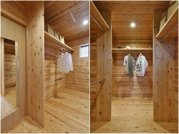 walk-in closet ไม้