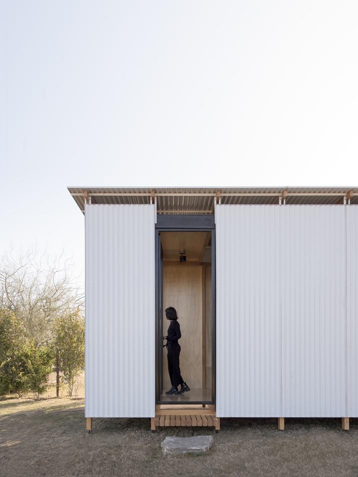 บ้านสำเร็จรูปหลังเล็ก