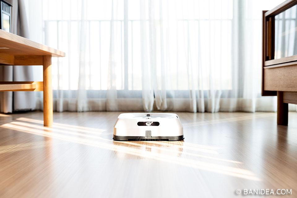 รีวิวหุ่นยนต์ถูพื้น