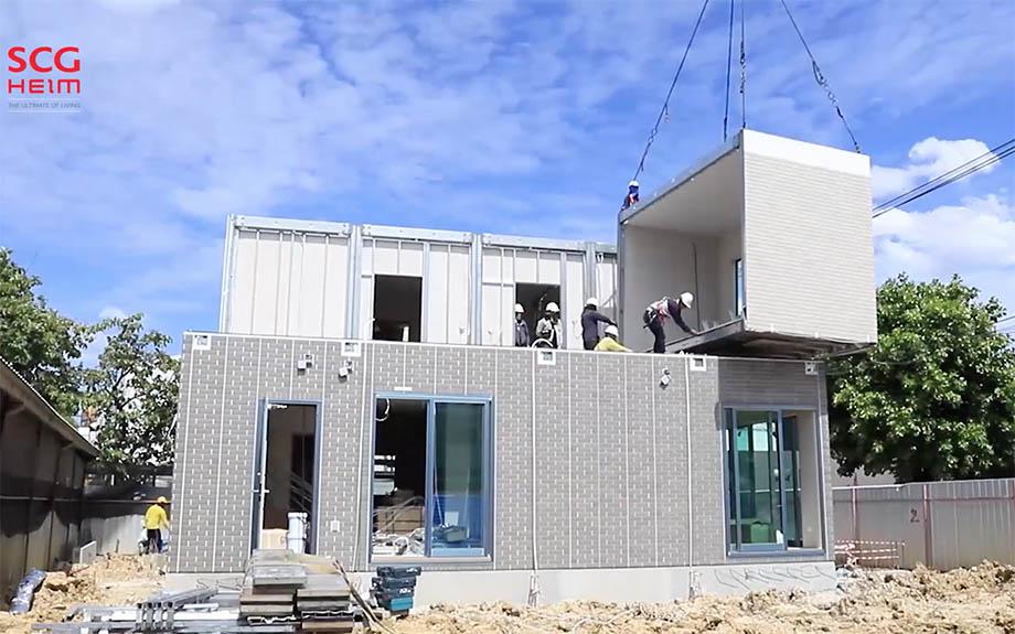 SCG-HEIM ขณะก่อสร้าง
