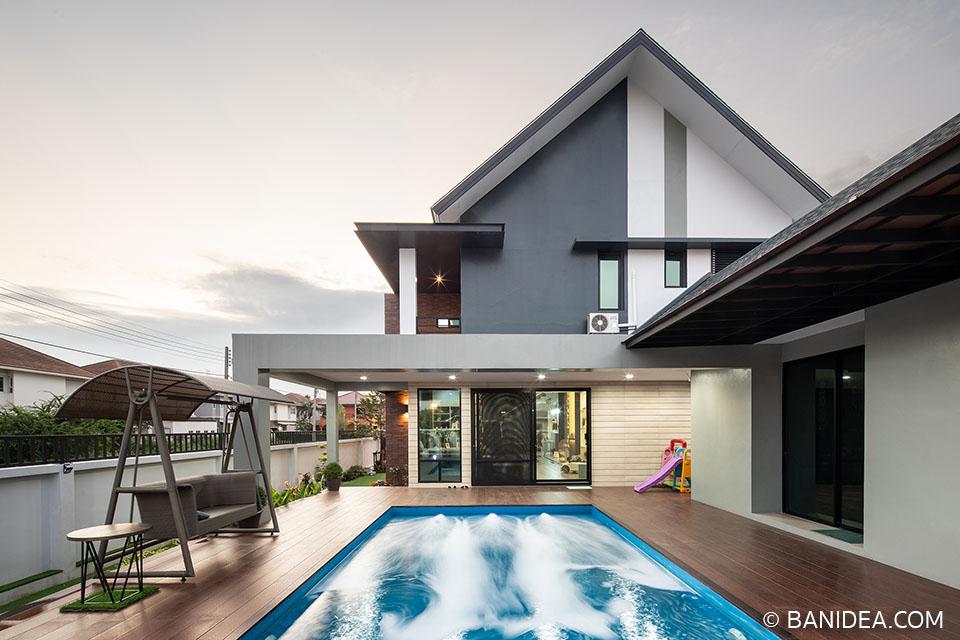 บ้านพร้อมสระว่ายน้ำ ปทุมธานี
