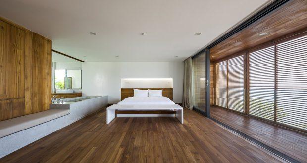 ห้องนอนติดผนัง 2 ชั้น